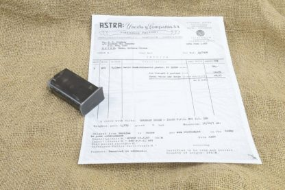 10 Round Astra 903 Magazine w/ Copy of Original Purchase Paperwork