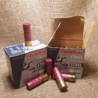 12 Gauge Federal Classic | 5 Pack | 3in | 1 1/8oz | 4 Shot