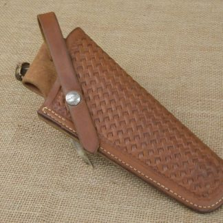Vintage George Lawrence Basketweave Holster, Model 120B, Size 530