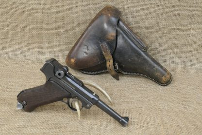 1936 Mauser S/42 P.08 Luger Pistol
