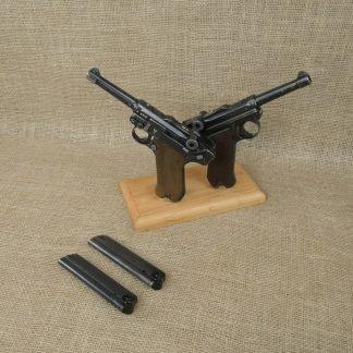 Consecutive Numbered 1941 KU Mauser/Luftwaffe P.08 9mm Luger Pistols -