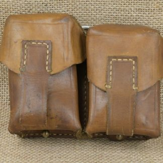 Mauser 2 Cell Leather Ammo Pouch