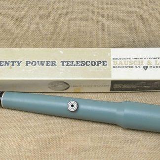 Bausch & Lomb Twenty Power Telescope - With Packaging