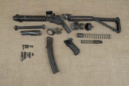 Sterling L2A3 Machine Gun Parts Kit W/ Original 9mm Barrel, Magazine and Full Shroud