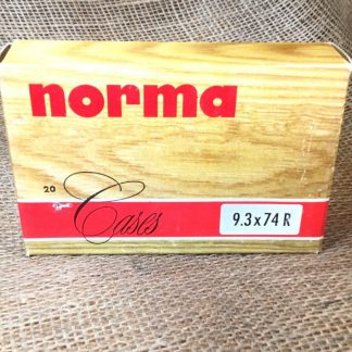 Norma Brass Cases -- 9.3x74R - 20 per box
