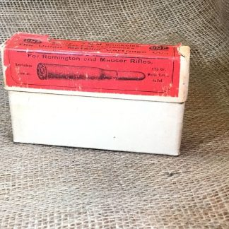 Vintage UMC 7 M-M Ammunition - 20ct Box