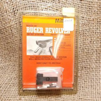 Millet Ruger Revolver Sight System