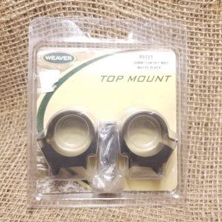 Weaver Scope Mounts | 30mm Low Height
