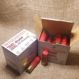 12 Gauge Winchester Drylok Hi-Velocity | 4 Pack | 3in | 2 Shot | 1 1/8oz