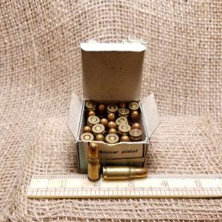 7.63x25mm Mauser Ammo