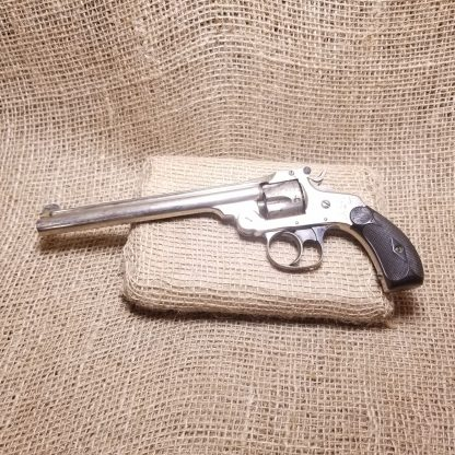Smith & Wesson 4th Model Top Break Revolver - 6 Inch Barrel