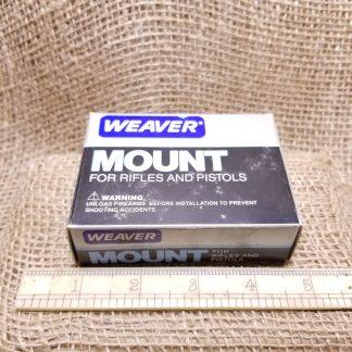 Weaver 1 inch Scope Rings