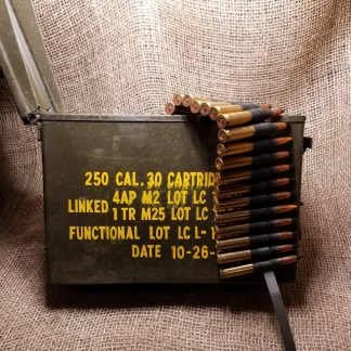 30-06 AP Tracer Ammo Can