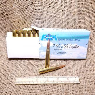 7.65x53mm Argentine Ammo Box