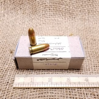 9mm Luger Ammo Box - Egyptian Surplus