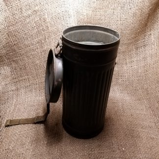 German WWII GM38 Gas Mask Canister