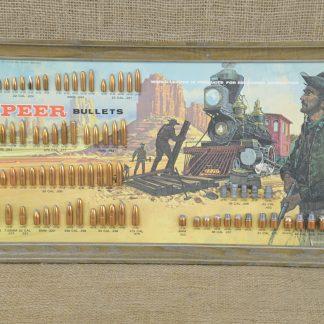 1971 Railroad Speer Bullet Board