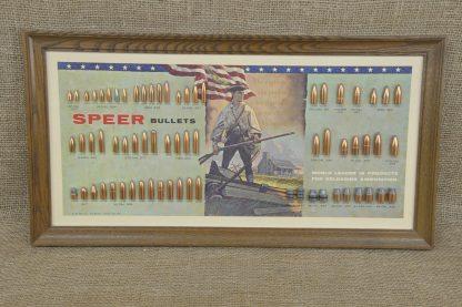 American Patriot Speer Bullet Board
