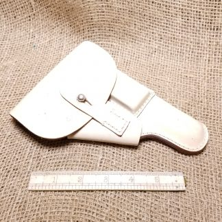 White Leather Walther PP Holster