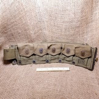 30-06 10-Cell USA WWII M1923 Cartridge Belt