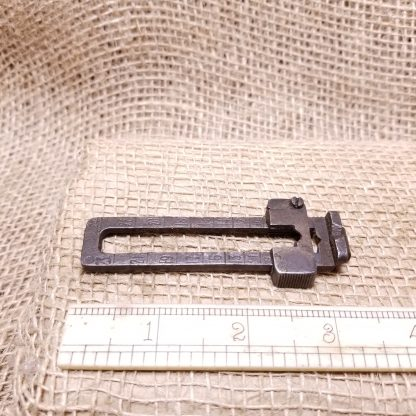 Arisaka Type 38 Rear Sight Leaf Assembly