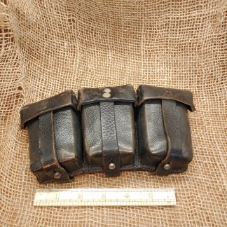 8mm mauser leather stripper clip pouch