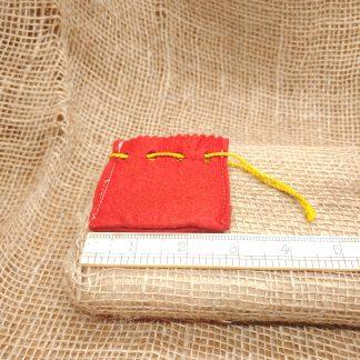 Ruger Red Felt Cylinder Bag