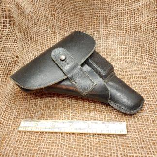 black Leather Makarov holster