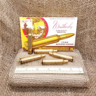 270 Weatherby Magnum Brass