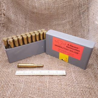 A-Square 338 Winchester Magnum Ammo Box