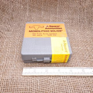 A-Square 470 Rigby Nitro Express Ammo Pack