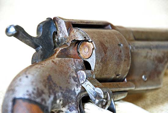 """Allen & Wheelock .44 """"Lipfire"""" Revolver"""
