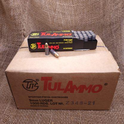 1000 Round 9mm Luger Ammo Case