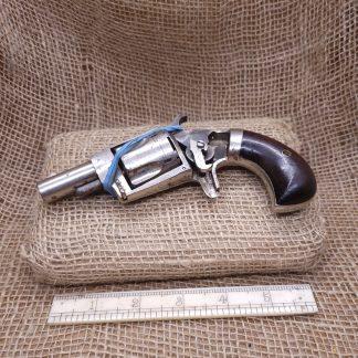 38 Rim Fire Hopkins & Allen XL No4 Revolver (2)