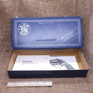 S&W Model 19-4 Factory Box