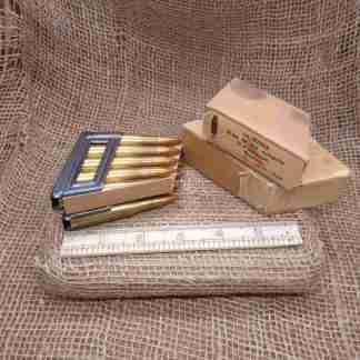 10 Stück 8mm M.30 Scharfe S-Patronen Rottw' (2)