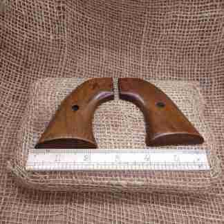 2nd Gen Colt SAA Two-Piece Wood Grips