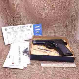 NIB Smith & Wesson Model 59 Semi-Automatic 9mm Pistol (1)