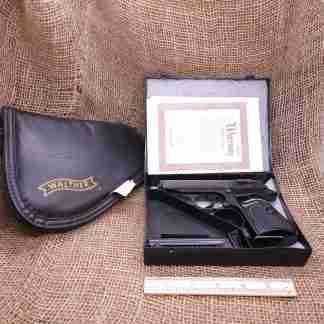 NIB Walther PPKS 22LR Blued Handgun (1)